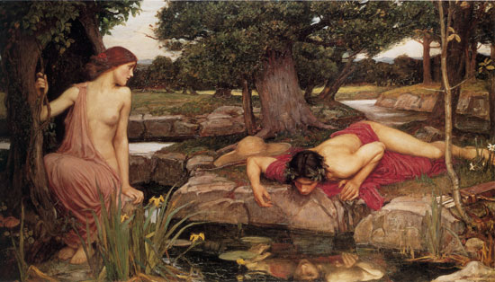 Echo and Narcissus, William Waterhouse
