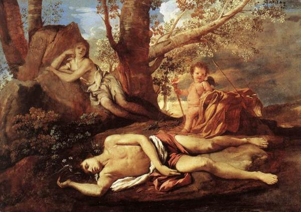 nicolas poussin-echo-and-narcissus-1629