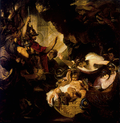 Infant Hercules Strangling the Serpents ---Joshua reynolds.jpg