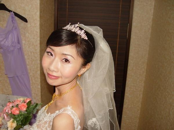 可愛的新娘子