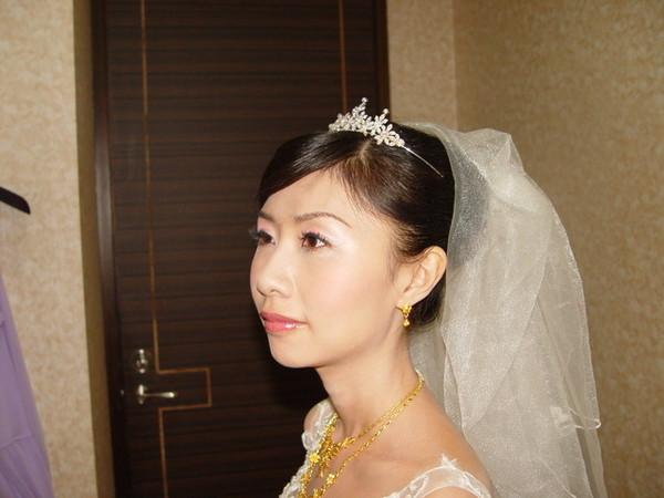 新娘子特寫