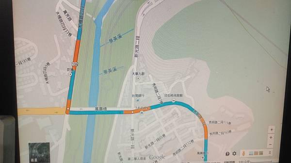 木柵路4段->萬壽橋->秀朗路2段