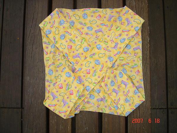 收納STEP2 收折好背帶.完全收在8角型布面內