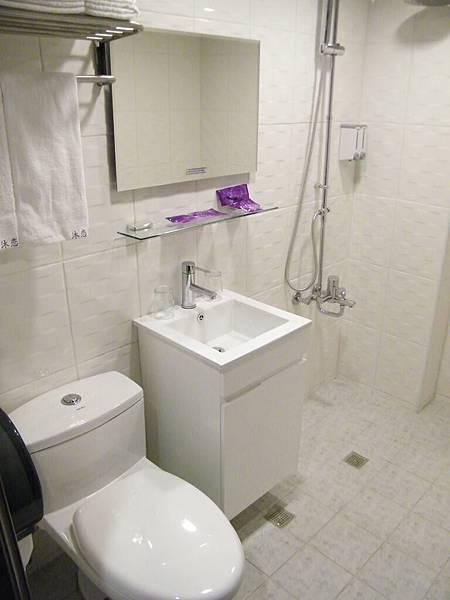 乾淨淋浴灑花設備