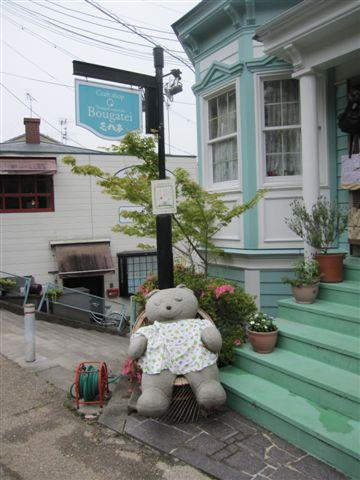 這裡的裝飾很愛用熊