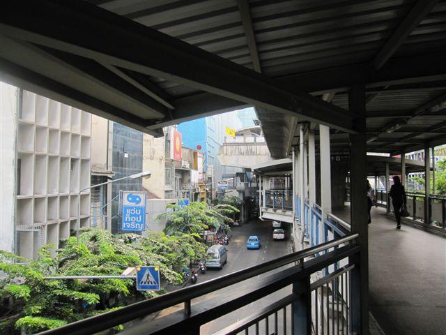 曼谷STB望出去的街景