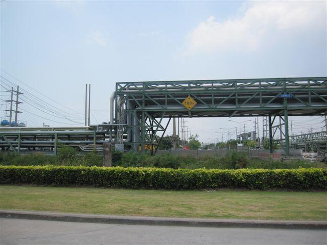 拜訪的工廠位於Rayong的石化專區