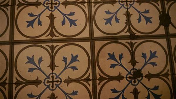 地板的瓷磚