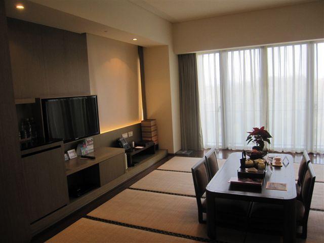 雲品的日式客房