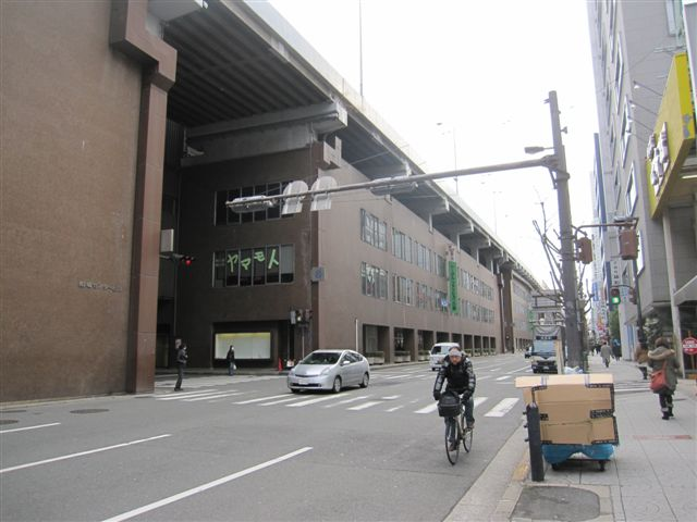 大阪纖維商人起家處 - 船場附近