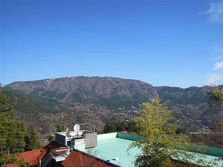 雖然沒有辦法看到山的全景,也很棒了