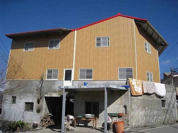 Iban家的二樓終於開始蓋了