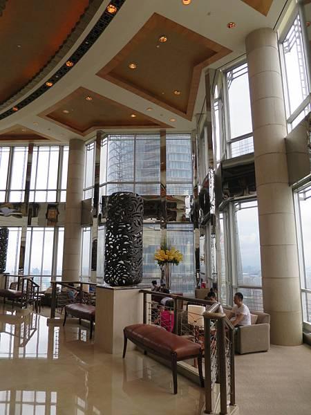 54樓的大廳,景觀也很不錯