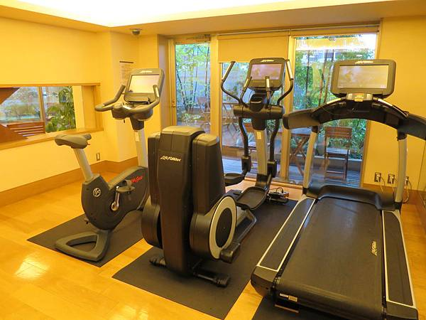 還有小健身房