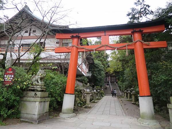 宇治神社入口處