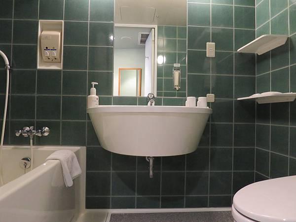 浴室並無乾濕分離