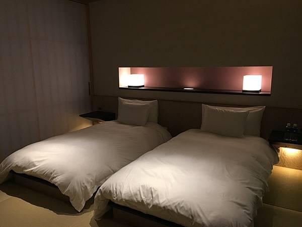 Hoshinoya Tokyo 房間
