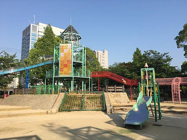 大阪城公園遊具廣場