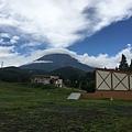雨過天晴 富士山也出來見人了