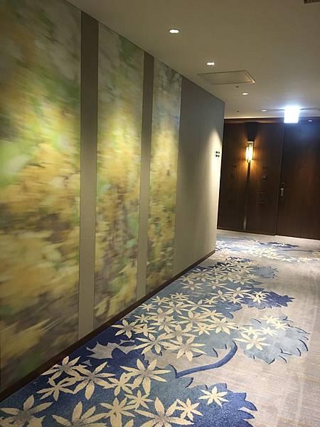 走廊也走和風