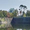 看到些許的名古屋城天守閣
