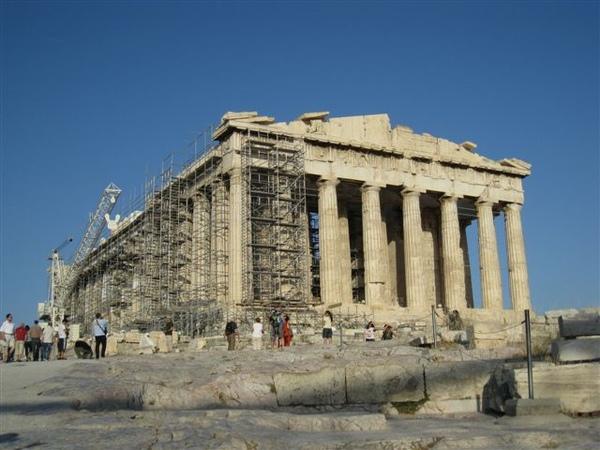 下午回雅典 上衛城