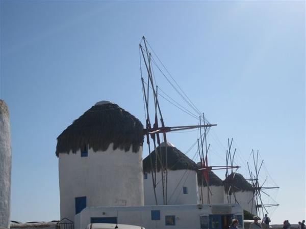 明信片常出現的風車
