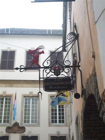盧森堡很多這種小雕飾