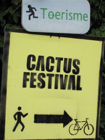 原本這次的目的Cactus音樂節