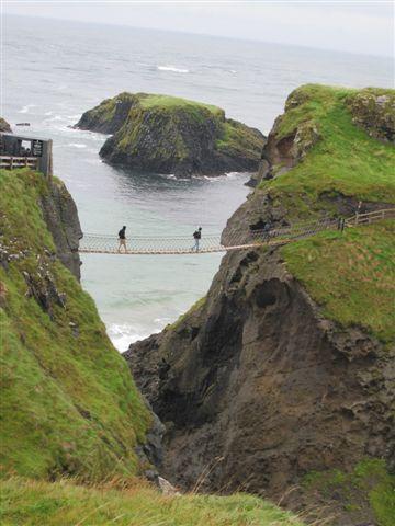 世界遺產Carrick-a-Rede Rope Bridge