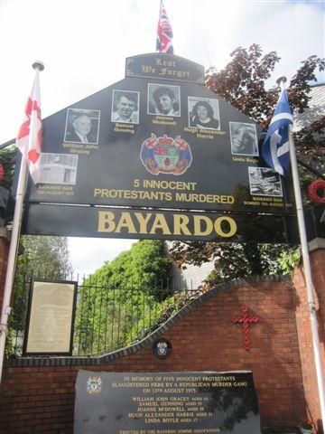 紀念被IRA射殺的受難者
