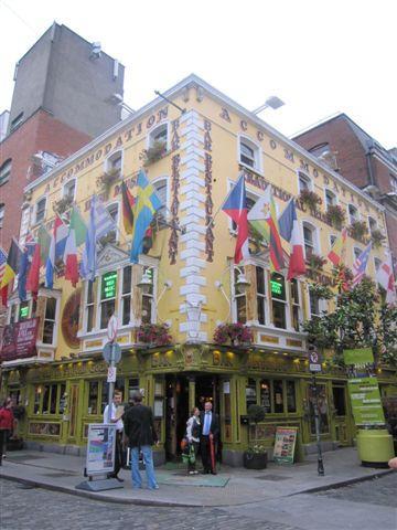 the Oliver St. John Gogarty Bar