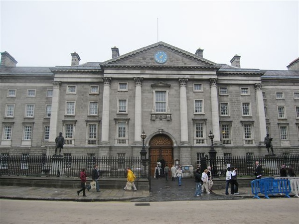 the University of Dublin, Trinity College