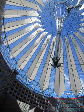 波茲坦廣場的Sony Centre