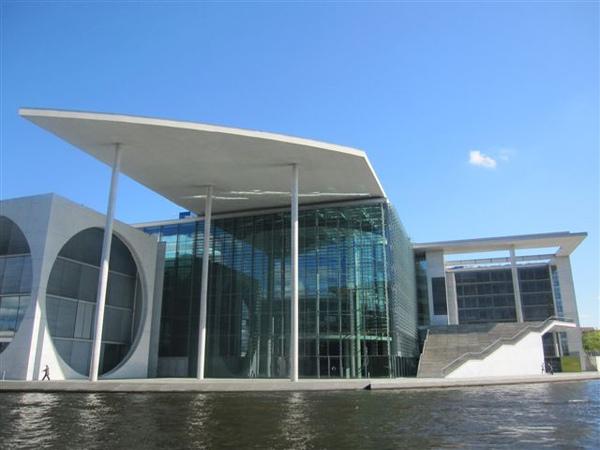 柏林新國會與總理府
