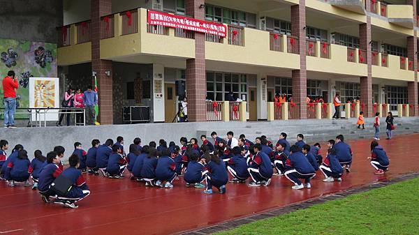 學生集合情形