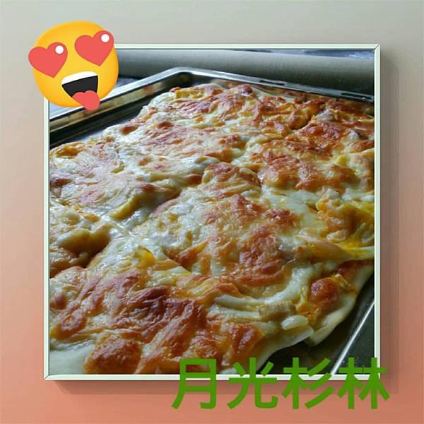 泡菜pizza