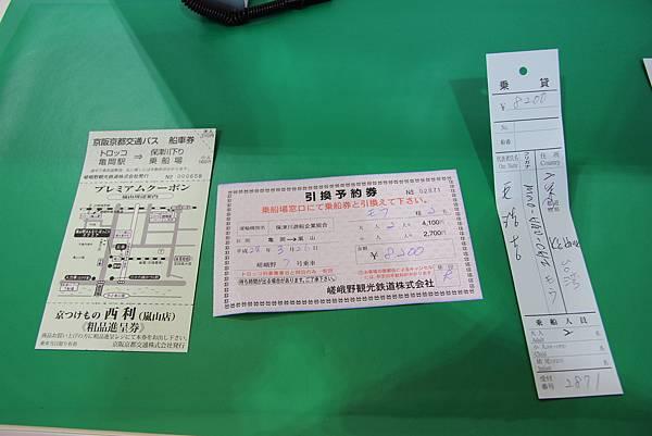 0326京都嵐山瑳峨野觀光火車、保津川遊船 (8).JPG