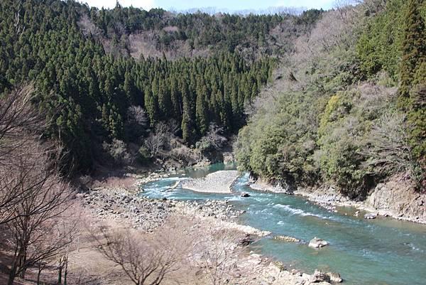 0326京都嵐山瑳峨野觀光火車、保津川遊船 (25).JPG
