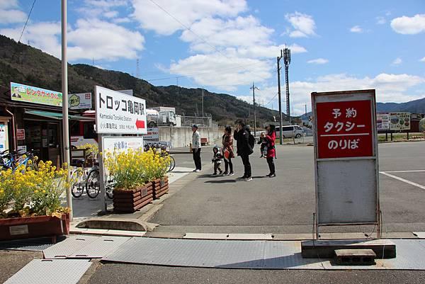 0326京都嵐山瑳峨野觀光火車、保津川遊船 (30).JPG