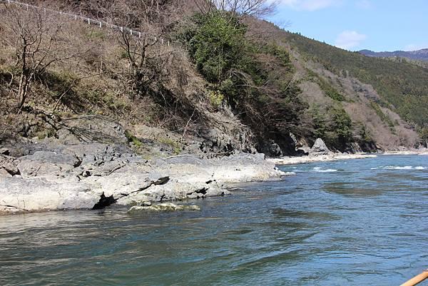 0326京都嵐山瑳峨野觀光火車、保津川遊船 (47).JPG
