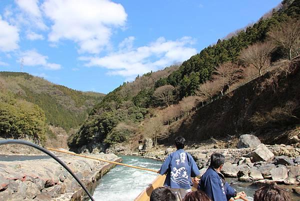 0326京都嵐山瑳峨野觀光火車、保津川遊船 (53).JPG