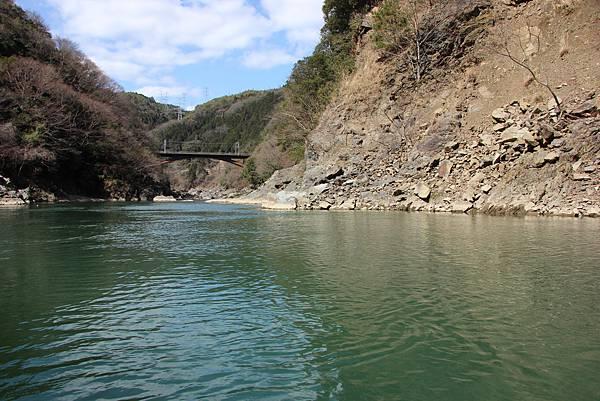 0326京都嵐山瑳峨野觀光火車、保津川遊船 (59).JPG