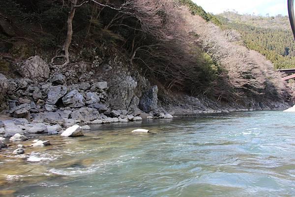 0326京都嵐山瑳峨野觀光火車、保津川遊船 (63).JPG