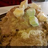 一品清冰品 - 芋頭牛奶黑糖底 + 棉花糖