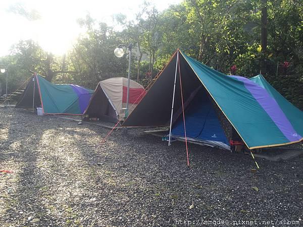 宜蘭露營、宜蘭桶仔雞、宜蘭烤魚-蜜蜜雞地 2016 元旦假期 -B0區