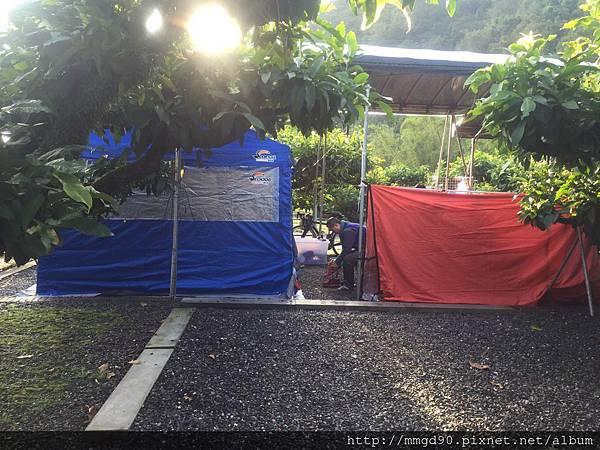 宜蘭露營、宜蘭桶仔雞、宜蘭烤魚-蜜蜜雞地 2016 元旦假期 -A0區 有棚區