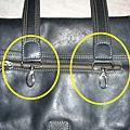 皮包揹帶的五金鉤環斷裂