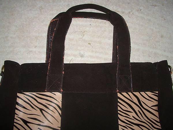 重新製作皮包的提把揹帶
