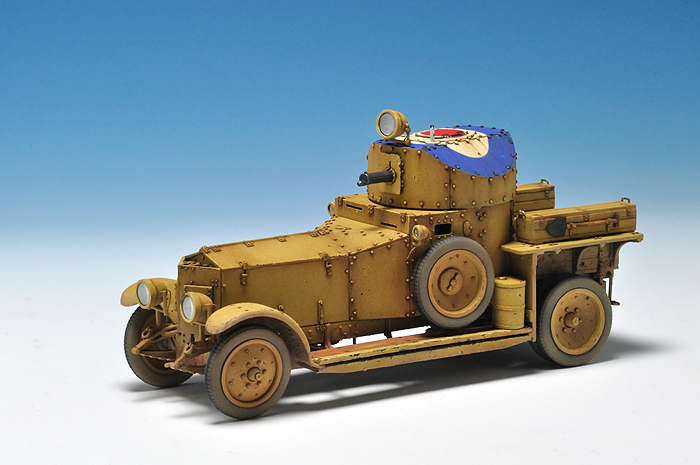 Rolls Royce Armoured Car_4